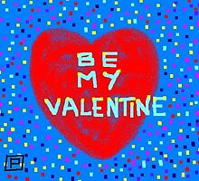 Be My Valentine (card) by sword