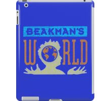 Beakman's World tv show design. iPad Case/Skin