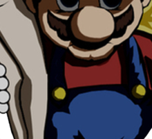 Mario - Kidnap Sticker