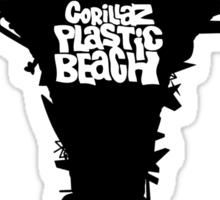 Plastic Beach Sticker