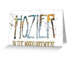 Hozier Greeting Card