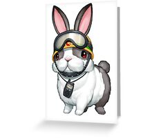 Rescue Rabbit Shirt Greeting Card
