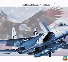 F-15C Eagle by A. Hermann