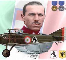 Capitano Count Francesco Baracca by A. Hermann