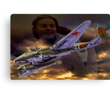 Night Witches Canvas Print