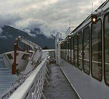 Alaska Ferry by EvaMcDermott