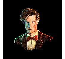 Matt Smith colour portrait Photographic Print