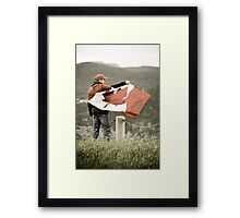 I am Canadian Framed Print