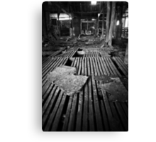 Wool Shed Canvas Print