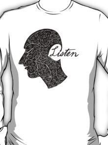 Listen/Music Lover T-Shirt