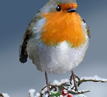 Merry Robin by saleire