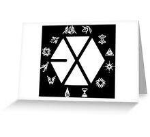 EXO Greeting Card