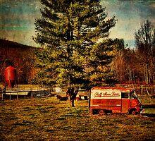 Half Moon Panel Truck by PineSinger
