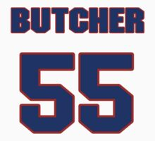 National Hockey player Garth Butcher jersey 55 by imsport