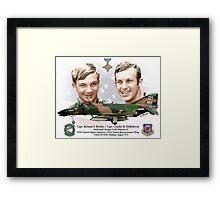 Capt. Richard S. Ritchie - Capt. Charles B. DeBellevue Framed Print