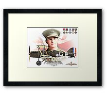 Major James T. B. McCudden Framed Print