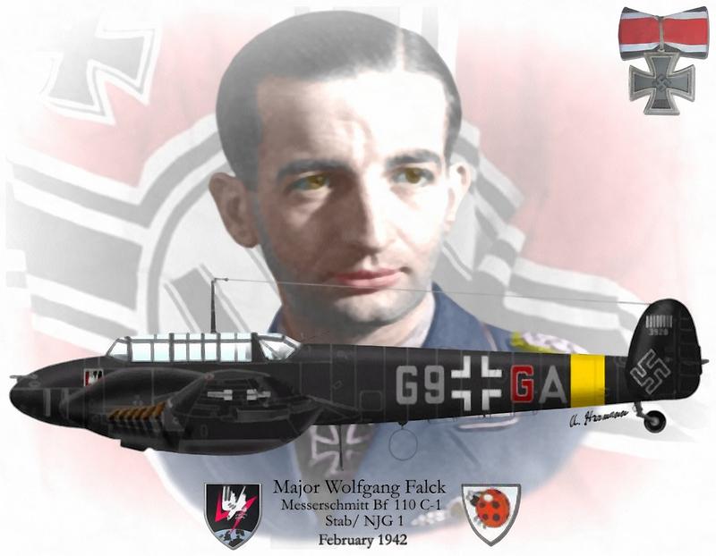 Major Wolfgang Falck by A. Hermann