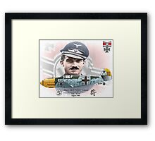 "Adolf ""Dolfo"" Galland Framed Print"