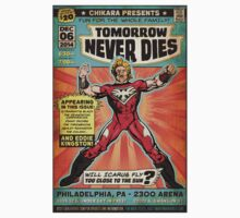 CHIKARA's Tomorrow Never Dies - Official Wrestling Poster Kids Clothes