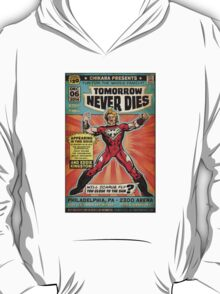 CHIKARA's Tomorrow Never Dies - Official Wrestling Poster T-Shirt