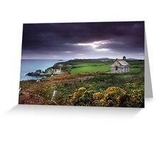 St Non's Chapel Greeting Card