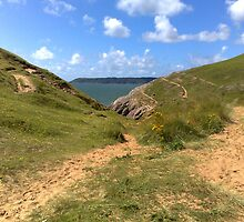 Walk to Pobbles, The Gower, Wales by chapperskate