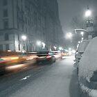 New York City Traffic by Peter Bellamy