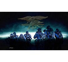 US Navy Seals Photographic Print
