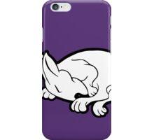English Bull Terrier Sleeping  iPhone Case/Skin