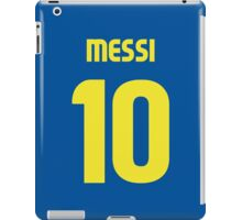 Leo Messi Fc Barcelona 2013 T-Shirt iPad Case/Skin