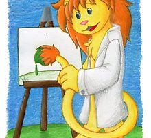 Artie the Art Lion by Kimberly Weatherston