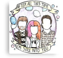 Still Into You - Paramore Metal Print