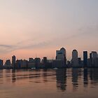 Manhattan Dawn by Peter Bellamy