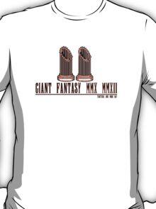 Giant (Final) Fantasy -- ON WHITE T-Shirt