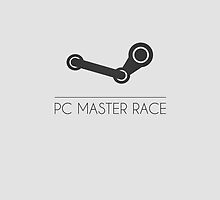PC MASTER RACE (Black) - Simple by Gabriel Vieira