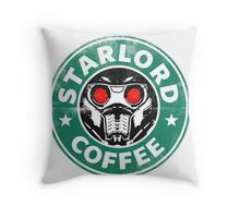 Star-Lord Coffee Throw Pillow