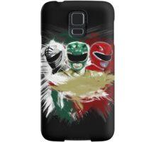 White,Green,Red Rangers Samsung Galaxy Case/Skin