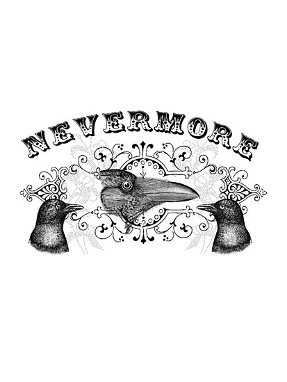 Ravens & Crows Nevermore by Zehda