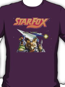 Star Fox (SNES) Title Screen T-Shirt