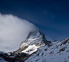 Clouds on The Matterhorn 3 by Steve plowman