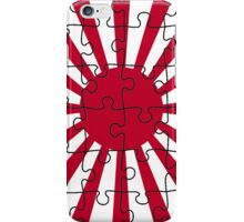Rising Sun puzzle iPhone Case/Skin