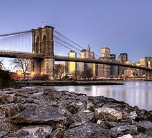 Brooklyn bridge NYC re-work by joemc