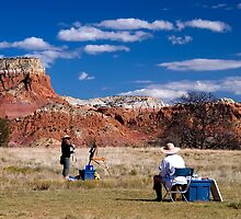 Ghost Ranch by doorfrontphotos
