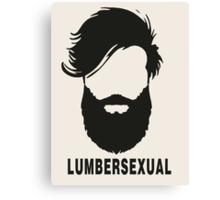 Lumbersexual Canvas Print