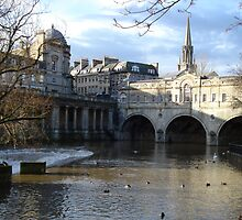 Bath - England by Justine Humphries
