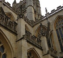 Bath Abbey by Justine Humphries