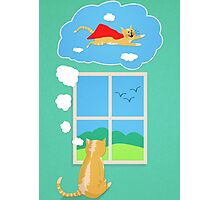 Cats Just Wanna Have Fun Photographic Print