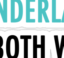 Wonderland Sticker