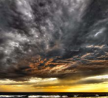 Metallic Sunset by Heather Prince