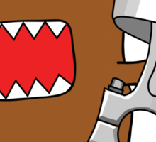 Domo with Piston Sticker